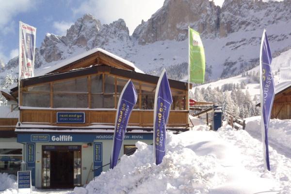 Noleggio Ski Verleih Golflift