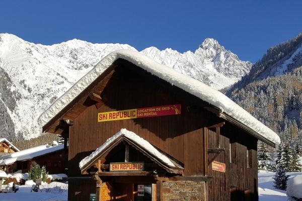 Ski Republic Ski Max les Grands Montets
