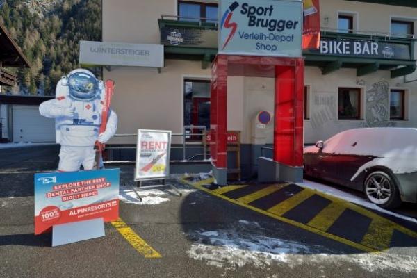 Sport Brugger Giggijoch Talstation/valley station